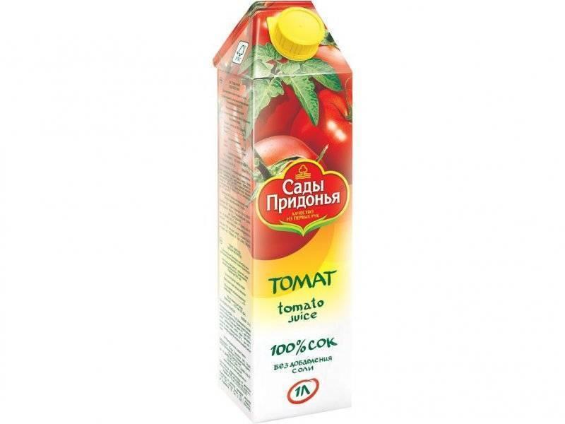 Сады придонья томатный сок купить