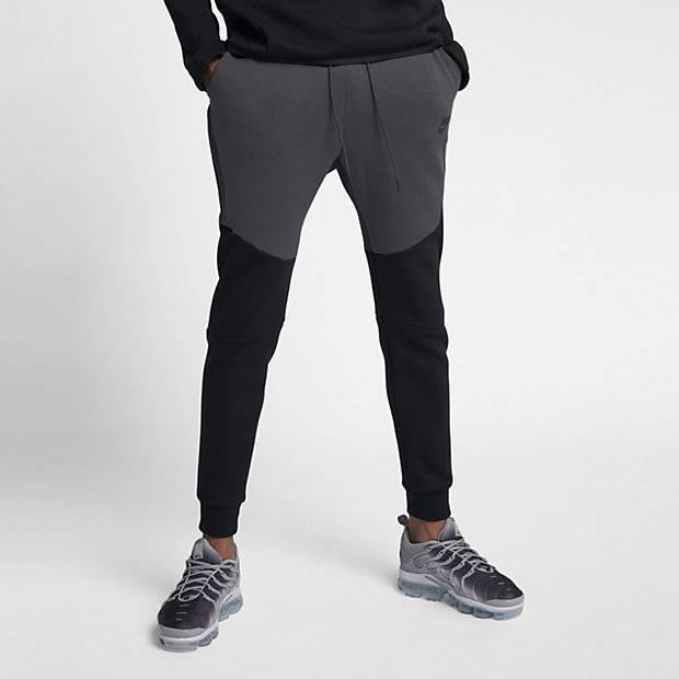 9778c775 Мужские джоггеры Nike Sportswear Tech Fleece (Черный) (805162-012 ...