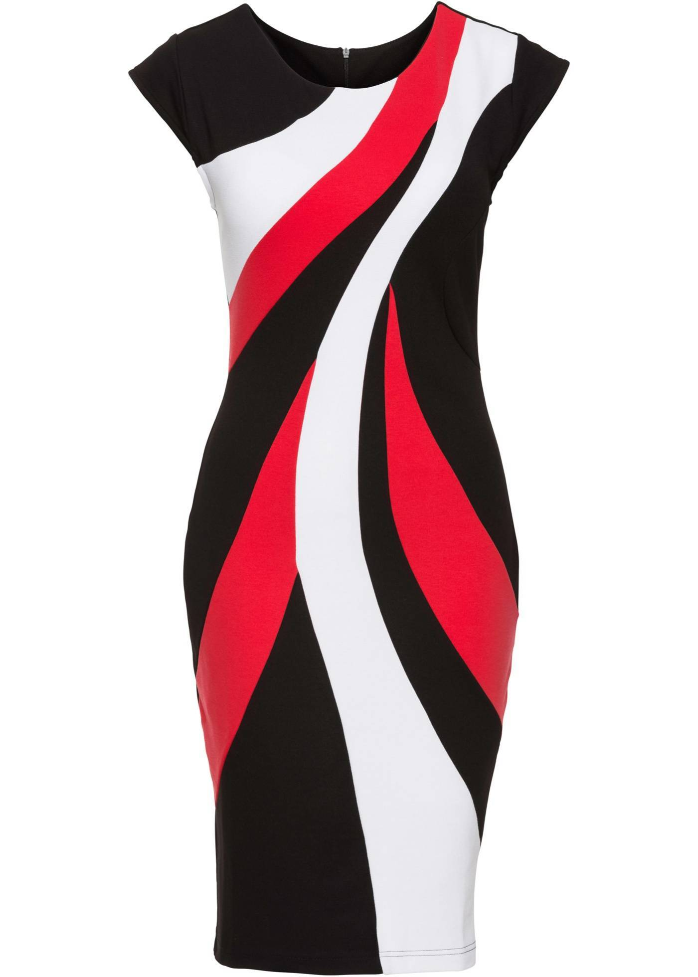 Красно Черно Белое Платье