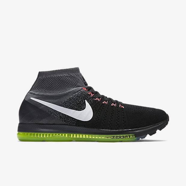46168a81 Мужские беговые кроссовки Nike Air Zoom All Out Flyknit (Черный ...